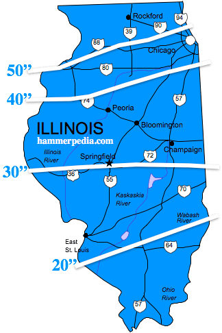 Illinois-Frost-Line-Map
