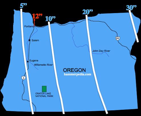 Oregon Frost Line Hammerpedia