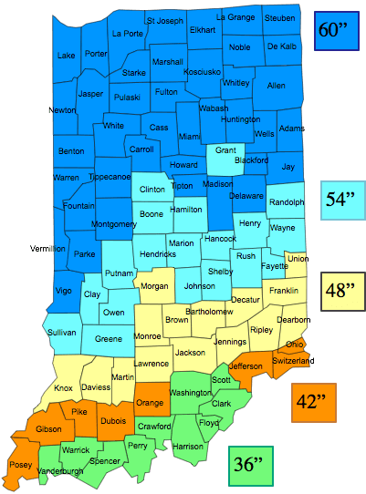 Indiana Frost Line Hammerpedia