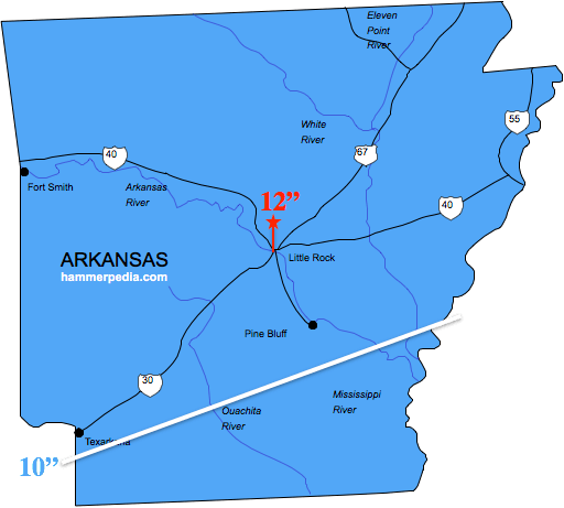 Arkansas-Frost-Line-Map