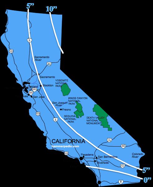 California Frost Line - Hammerpedia