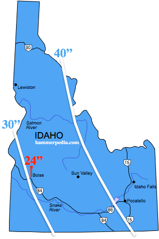 Idaho-Frost-Line-Map