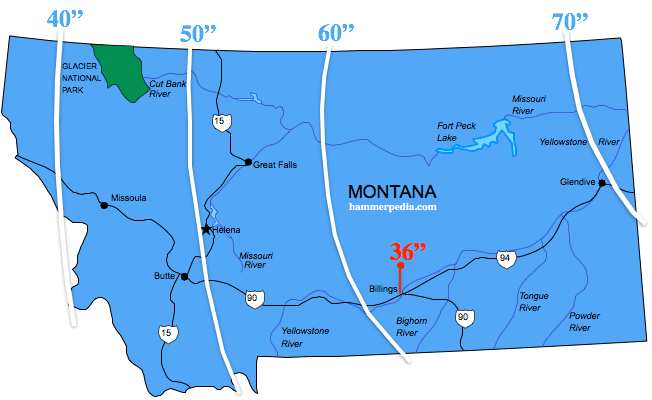 Montana-Frost-Line-Map