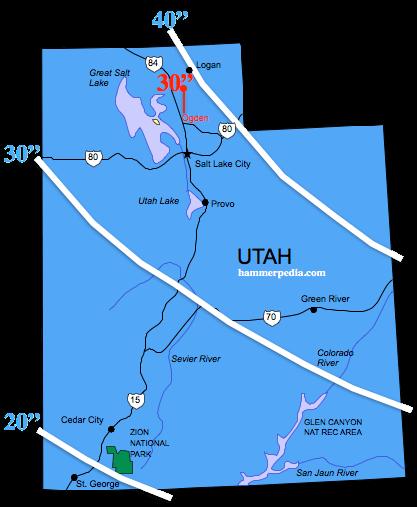 Utah Frost Line - Hammerpedia