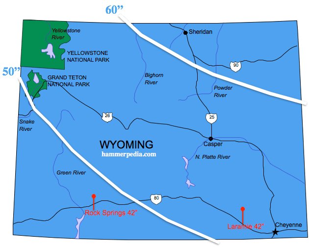 Wyoming Frost Line Hammerpedia