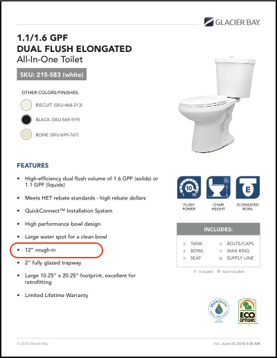 Toilet Rough-In (The 4 Dimensions You Need To Know