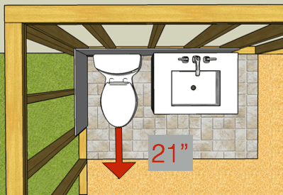 Toilet Clearnace Front Ipc
