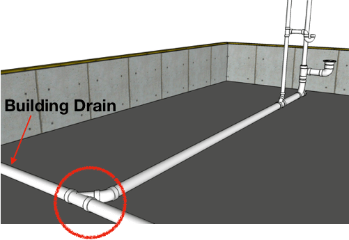 building-drain-example